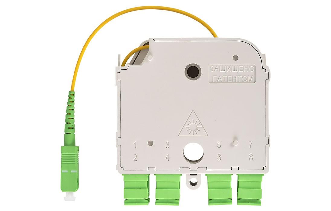 Модульный сплиттер 1х8 PLC SC/APC СМ3 (УСМ)