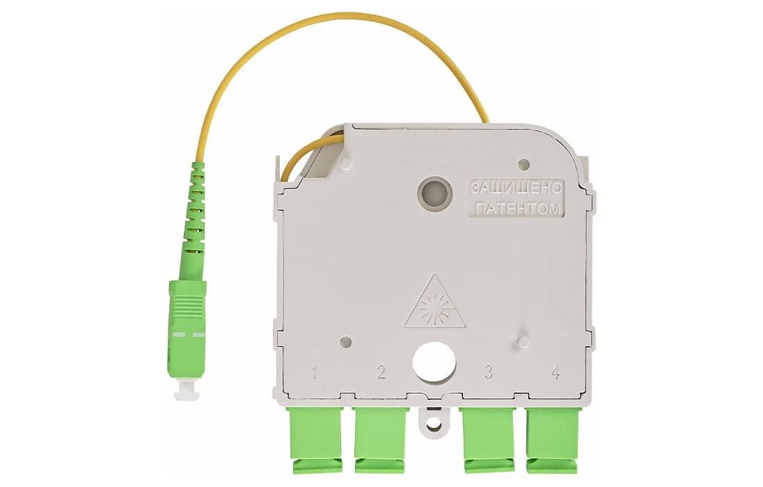 Модульный сплиттер 1х4 PLC SC/APC СМ3 (УСМ)