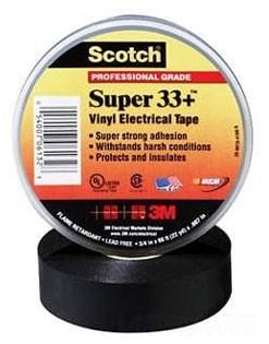 Scotch Super 33+ Лента изоляционная 19мм х 20м