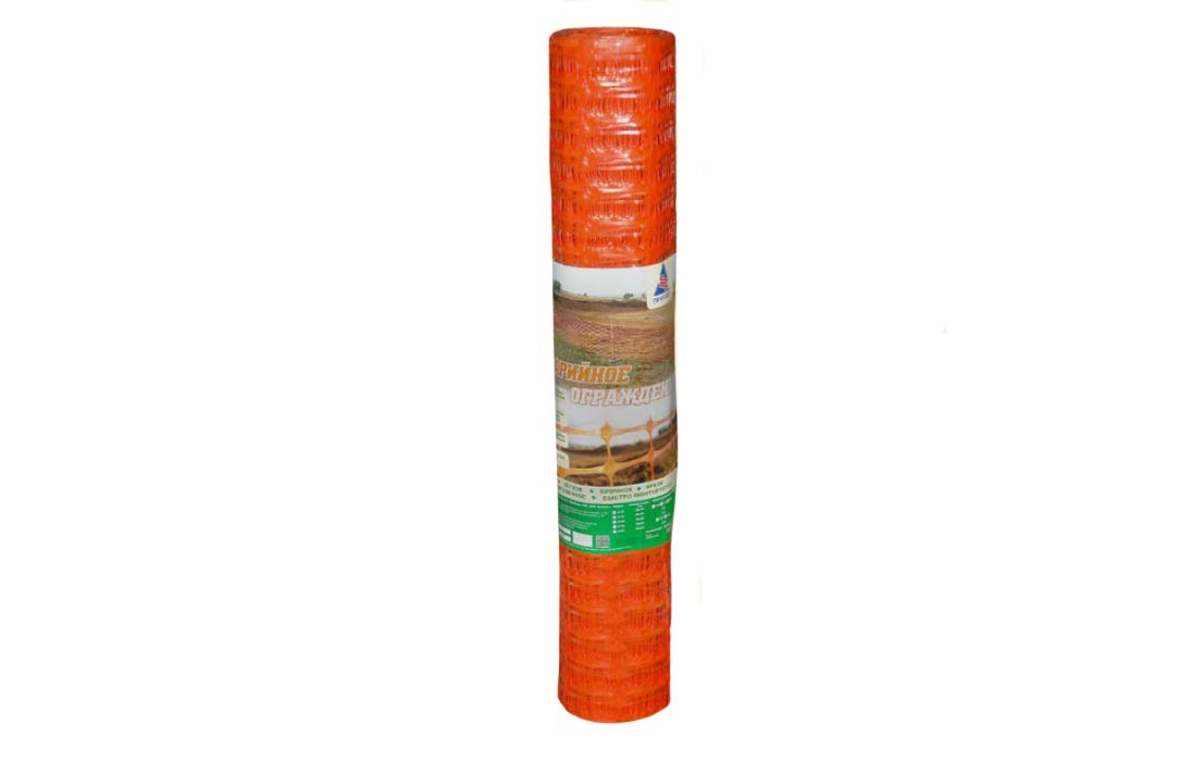 Сетка пластиковая 45х95мм h=1,0м (рулон 20м)