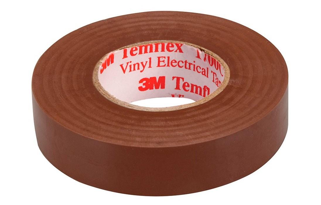 Temflex 1300 Лента изоляционная корич 19мм 20м