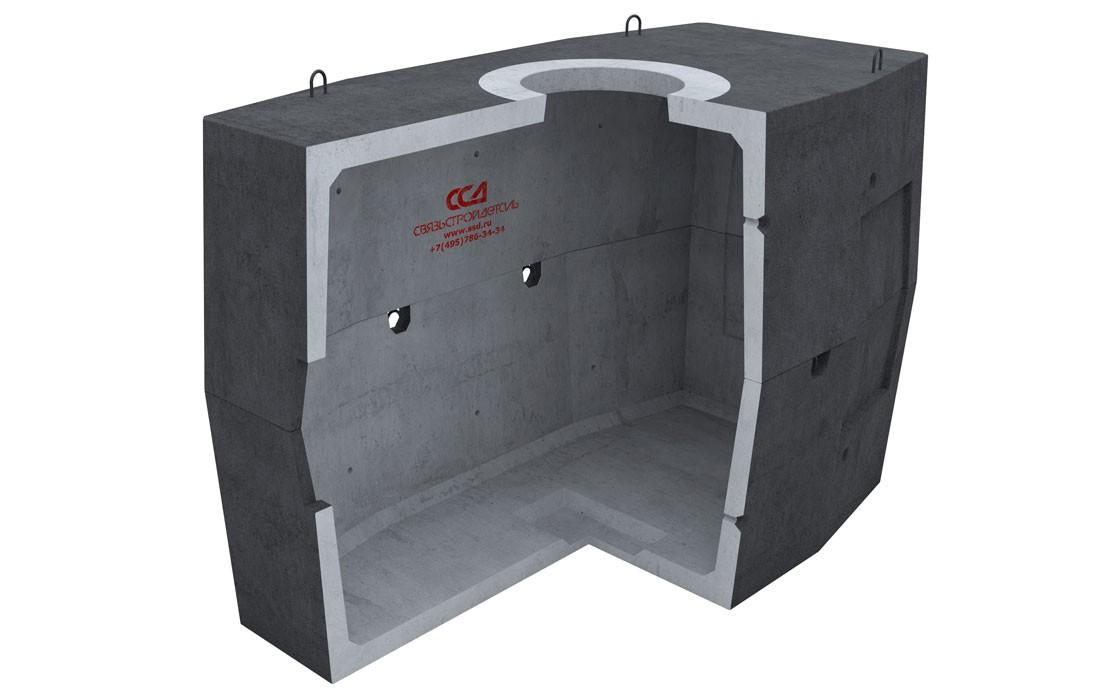 Колодец ККСр-5-10 Г в гидроизоляции