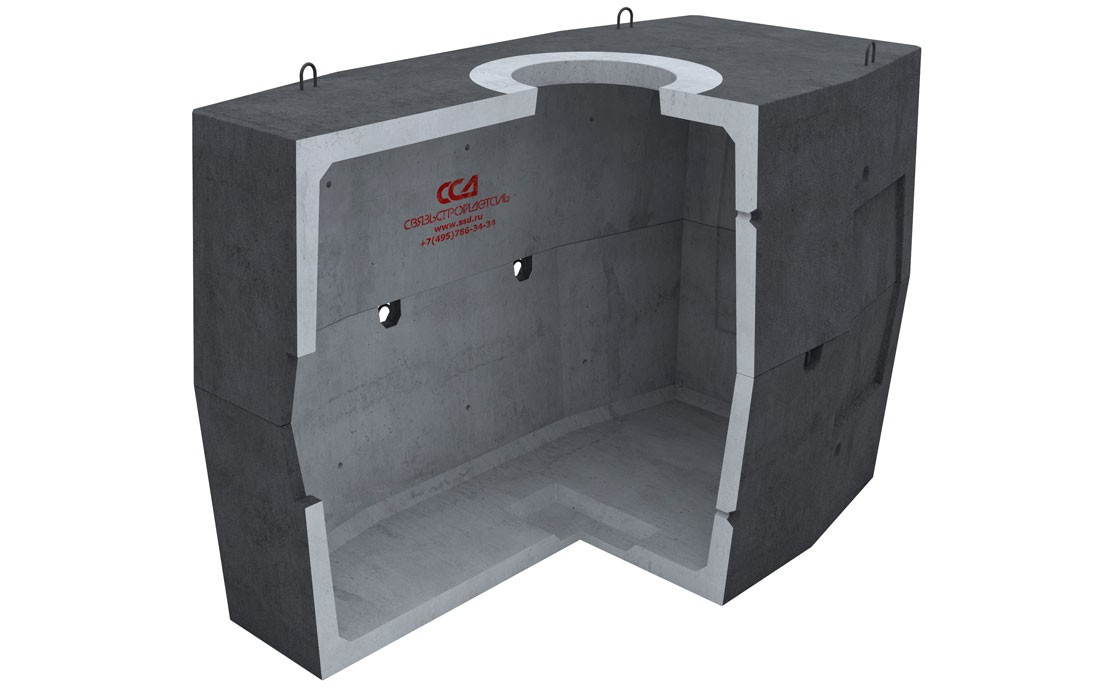 Колодец ККСр-5-80 Г в гидроизоляции