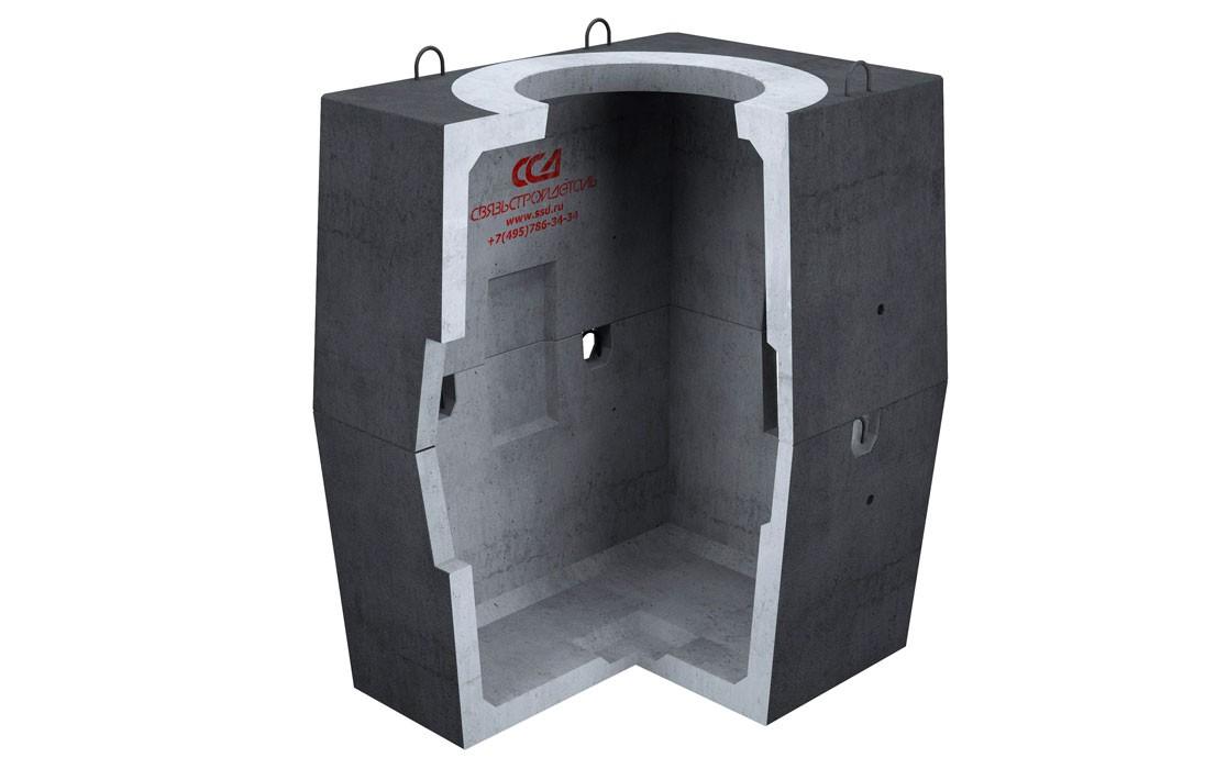 Колодец ККСр-2-10(80) Г в гидроизоляции