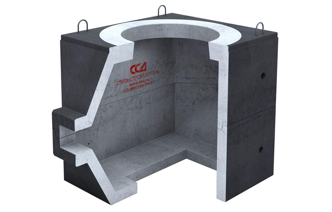 Колодец ККС-1-МЗ Г-ССД в гидроизоляции
