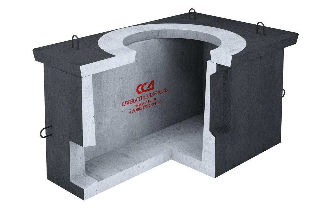 Колодец ККС1 Ж/Д под люк в гидроизоляции