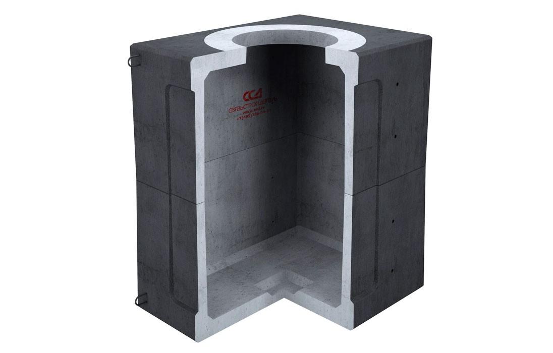 Колодец ККСр-2,5-10(80) Г в гидроизоляц.