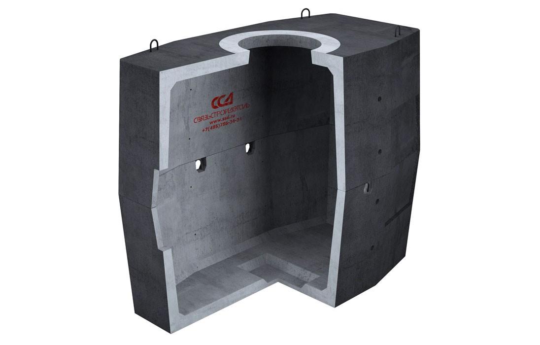 Колодец ККСр-4-10 Г в гидроизоляции